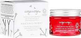 Düfte, Parfümerie und Kosmetik Feuchtigkeitsspendende Nachtcreme mit Moosbeerextrakt und Hyaluronsäure - Uoga Uoga Hyaluronic Acid Night Cream