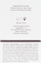 Pflegende Augenkonturcreme mit Seidenprotein und Hyaluronsäure - Klapp Silk Code Eye Contour Cream — Bild N3