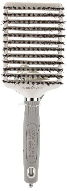 Haarbürste - Olivia Garden Xl Boar Ceramic+ion Vent — Bild N1