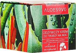Düfte, Parfümerie und Kosmetik Pflegende Nachtcreme mit Aloe Vera-Extrakt - Aloesove