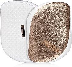 Kompakte Haarbürste mit Glitzer - Tangle Teezer Compact Styler Glitter Gold — Bild N1