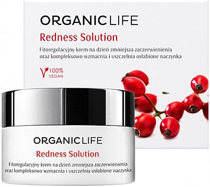 Bio Tagescreme mit Hagebuttenextrakt - Organic Life Dermocosmetics Redness Solution — Bild N1