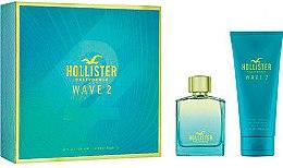 Düfte, Parfümerie und Kosmetik Hollister Wave 2 For Him - Kosmetikset (Eau de Toilette/100ml + Duschgel/200ml)