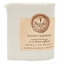Düfte, Parfümerie und Kosmetik Massagekerze Coffee Firming - Flagolie Coffee Firming Massage Candle