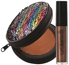 Düfte, Parfümerie und Kosmetik Make-up Set - NoUBA Sunlike Natural Tan №3 (Gesichtspuder 15g + Lipgloss 6ml)