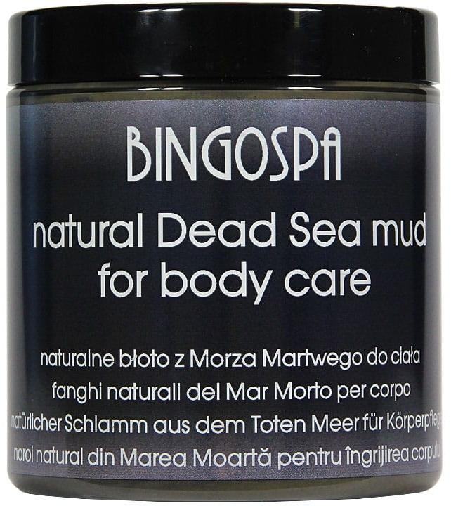 Schwarzer Körperschlamm aus dem Toten Meer - BingoSpa Black Mud Dead Sea 100% — Bild N1