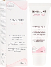 Düfte, Parfümerie und Kosmetik Feuchtigkeitsspendendes Gesichtscreme-Gel für empflindliche und leicht reizbare Haut - Synchroline Sensicure Creme Gel