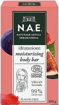 Feuchtigkeitsspendende Körperseife mit Bio Feigen- und Hibiskusextrakt - N.A.E. Moisturizing Body Bar — Bild N1