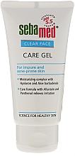 Düfte, Parfümerie und Kosmetik Feuchtigkeitsspendendes Gesichtsreinigungsgel für unreine und zu Akne neigende Haut - Sebamed Clear Face Gel Moisturizing And Soothing Gel