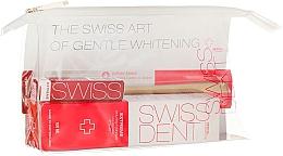 Düfte, Parfümerie und Kosmetik Mundpflegeset - Swissdent Extreme Promo Kit (Zahnpasta 50ml + Mundspülung 9ml + Zahnbürste weich 1St. + Kosmetiktasche)