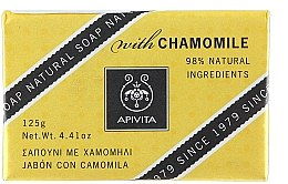 Düfte, Parfümerie und Kosmetik Naturseife mit Kamille - Apivita Soap with chamomile