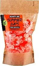 Düfte, Parfümerie und Kosmetik Energetisierende Badekristalle mit Orangenschalenöl - Beauty Jar Summer Days Energizing Bath Crystals with Orange Peel Oil