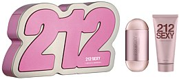 Düfte, Parfümerie und Kosmetik Carolina Herrera 212 Sexy edp - Duftset (Eau de Parfum 100ml + Körperlotion 100ml)