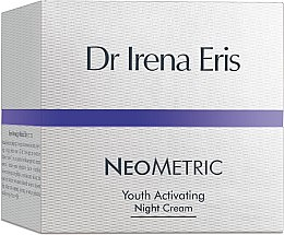 Düfte, Parfümerie und Kosmetik Verjüngende und revitalisierende Nachtcreme - Dr Irena Eris Neometric Youth Activating Night Cream