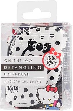Kompakte Haarbürste - Tangle Teezer Compact Styler Hello Kitty Black Brush — Bild N2