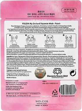 Beruhigende Tuchmaske mit Pfirsichextrakt - Frudia My Orchard Squeeze Mask Peach — Bild N2