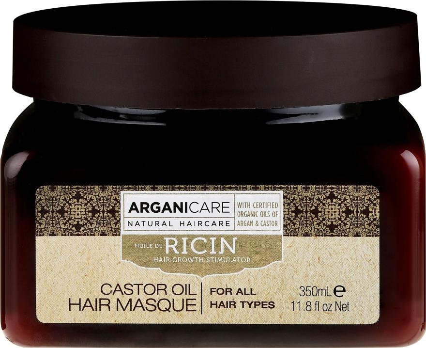 Haarmaske zum Haarwachstum mit Rizinusöl - Arganicare Castor Oil Hair Masque — Bild N1