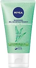 Düfte, Parfümerie und Kosmetik Gesichtswaschgel mit Matt-Effekt - Nivea Aqua Effect