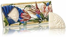 Düfte, Parfümerie und Kosmetik Naturseifen-Set Blumenstrauß - Saponificio Artigianale Fiorentino Floral Bouquet Soap (Seife 3x100g)