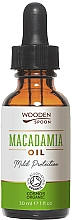 Düfte, Parfümerie und Kosmetik Schützendes kaltgepresstes Macadamiaöl - Wooden Spoon Macadamia Oil