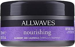 Düfte, Parfümerie und Kosmetik Pflegende Maske für gefärbtes Haar mit Ringelblumen- und Erdbeerextrakt - Allwaves Blueberry And Calendula Nourishing Mask