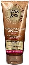 Düfte, Parfümerie und Kosmetik Selbstbräunungslotion mit goldenen Partikeln - DAX Sun Gradual Self-taninng Body Lotion