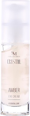 Essentielle Augenkonturcreme Bernstein - Hristina Cosmetics SM Crystal Amber Eye Cream — Bild N2