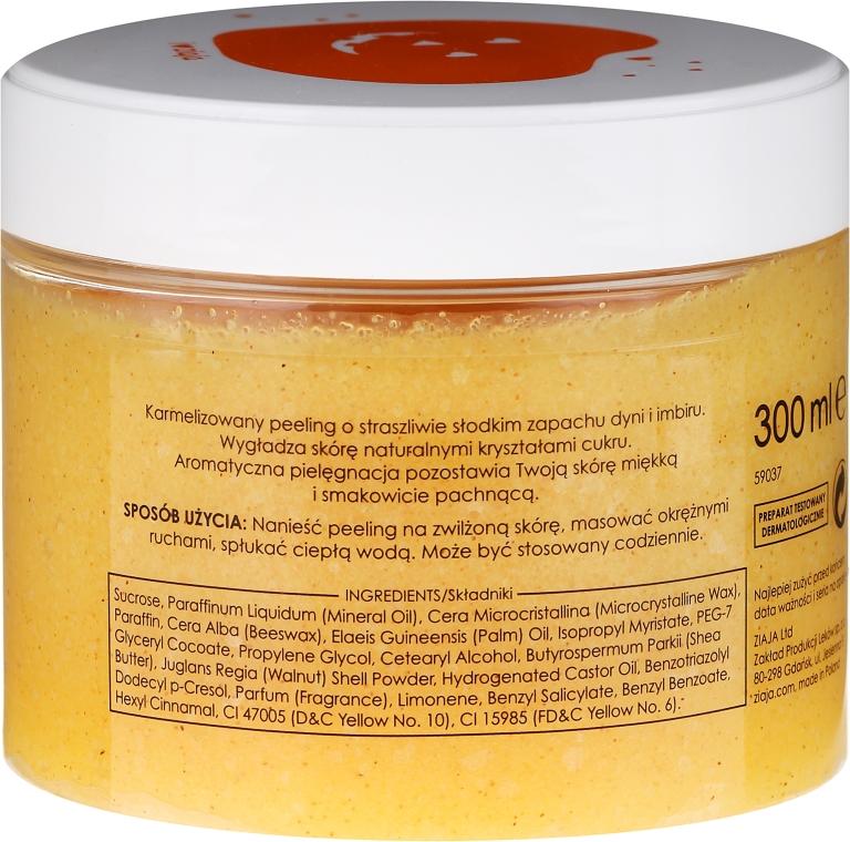 Karamelisiertes Zuckerpeeling für Körper mit Kürbis und Ingwer - Ziaja Sugar Body Peeling — Bild N2