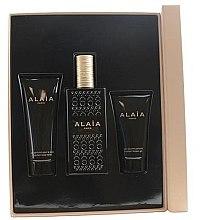 Düfte, Parfümerie und Kosmetik Alaia Paris Alaia - Duftset (Eau de Parfum 100ml + Körperlotion 75ml + Duschgel 50ml)
