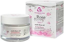 Düfte, Parfümerie und Kosmetik Tagescreme mit Rosenöl und Goji Berry - Bulgarian Rose Rose Berry Nature Day Cream