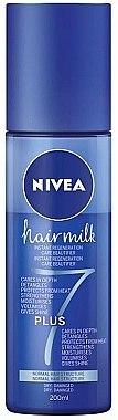 """Pflege-Sprühkur """"7 Plus"""" für trockenes und geschädigtes Haar - Nivea Hairmilk Conditioner"""
