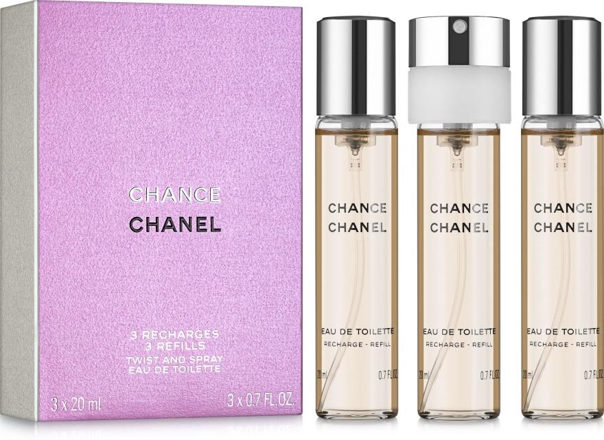 Chanel Chance - Eau de Toilette (3x20ml Refill) — Bild N1