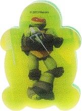 Düfte, Parfümerie und Kosmetik Kinder-Badeschwamm Die Ninja Turtles Michelangelo 4 - Suavipiel Turtles Bath Sponge