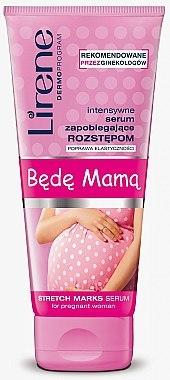 Intensives Körperserum gegen Dehnungssreifen für Schwangere - Lirene Mama Stretch Marks Serum For Pregnant Woman — Bild N1