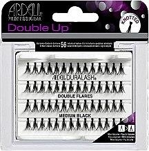 Düfte, Parfümerie und Kosmetik Wimpernbüschel-Set - Ardell Double Up Medium Black Lashes
