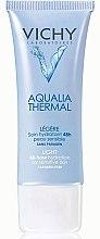 Düfte, Parfümerie und Kosmetik Leichte feuchtigkeitsspendende Gesichtscreme für empfindliche Haut - Vichy Aqualia Thermal Leggera Tub 40ml