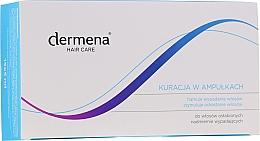 Düfte, Parfümerie und Kosmetik Ampullen gegen Haarausfall für Frauen - Dermena Hair Care Ampoules Against Hair Loss