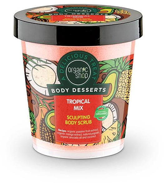 Anti-Cellulite Körperpeeling Tropical Mix - Organic Shop Body Desserts Tropical mix — Bild N1