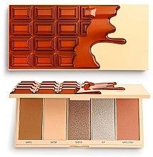 Düfte, Parfümerie und Kosmetik Make-up Palette - I Heart Revolution Chocolate Face Palette Waffle