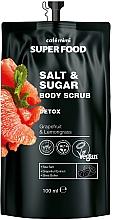 Düfte, Parfümerie und Kosmetik Detox-Körperpeeling mit Grapefruit und Zitronengras - Cafe Mimi Super Food