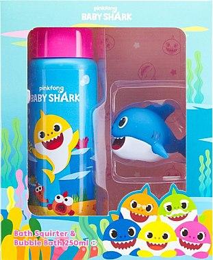 Baby-Pflegeset - Pinkfong Baby Shark Bath Fun Set (Badeschaum 250ml + Spielzeug) — Bild N1
