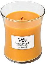 Düfte, Parfümerie und Kosmetik Duftkerze im Glas Apple Harvest - WoodWick Hourglass Candle Apple Harvest