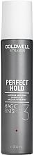 Düfte, Parfümerie und Kosmetik Brillanz Haarspray - Goldwell Style Sign Perfect Hold Magic Finish Lustrous Hairspray