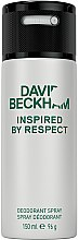 Düfte, Parfümerie und Kosmetik David Beckham Inspired by Respect - Deospray