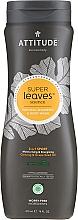 Düfte, Parfümerie und Kosmetik 2in1 Shampoo Ginseng & Traubenkernöl - Attitude 2-in-1 Sport Care Ginseng & Grape Seed Oil