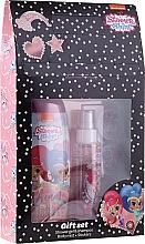 Düfte, Parfümerie und Kosmetik Körperpflegeset - Uroda Polska Shimmer Shine Gift Set (Duschgel 250ml + Körpernebel 110ml + Aufkleber)