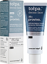 Regenerierende Anti-Aging Nachtcreme 35+ - Tolpa Provivo 35+ Renewing Night Anti-Age Cream — Bild N1