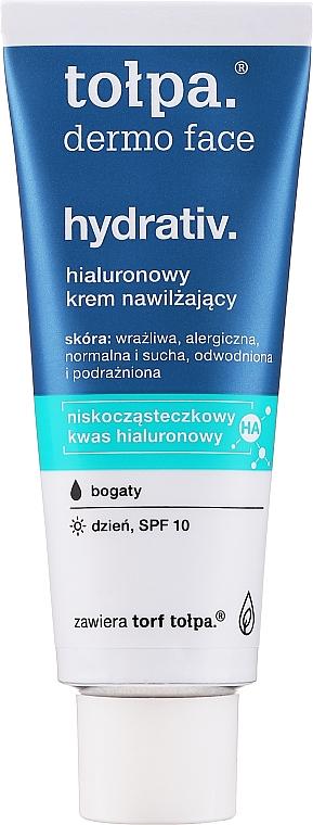 Feuchtigkeitsspendende Gesichtscreme LSF 10 - Tolpa Dermo Face Hydrativ SPF 10 — Bild N1