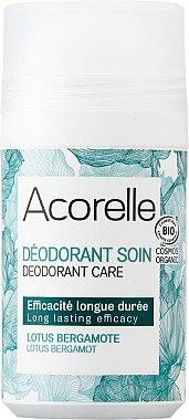 Bio Deo Roll-on mit Bergamotte und Lotus - Acorelle Deodorant Care — Bild N1