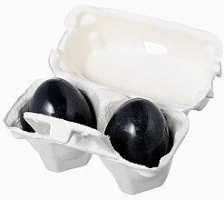 Düfte, Parfümerie und Kosmetik 3in1 Seife, Maske, Schaum mit Aktivkohle für Gesicht - Holika Holika Charcoal Egg Soap